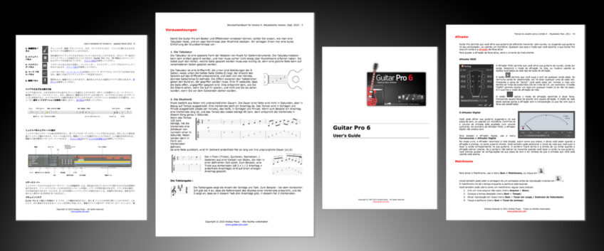 Guitar Pro 6 User's Guide is online