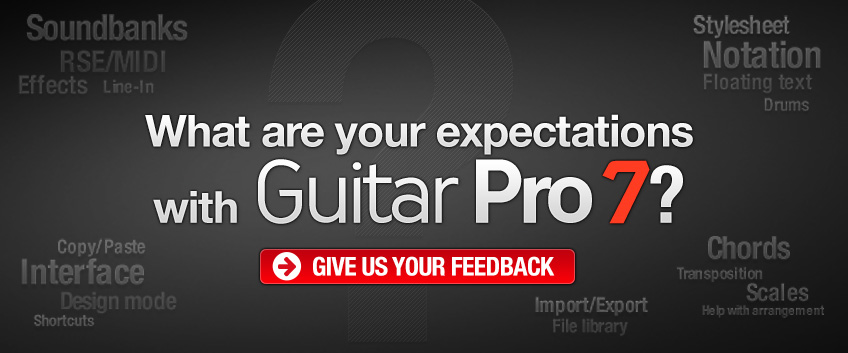 How would you like your Guitar Pro, sir?