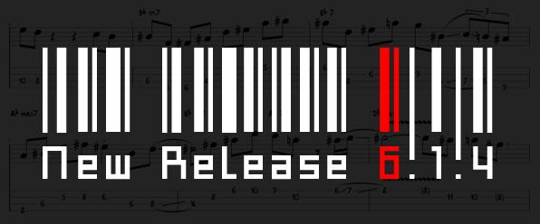 Guitar Pro update: 6.1.4 is online
