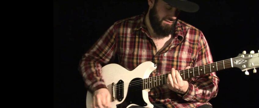 A country-music solo to learn in tablature and video