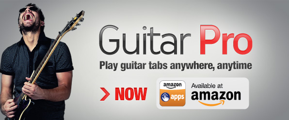 Guitar Pro Available on Amazon Appstore