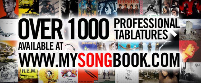 1,000 tabs online on mySongBook!   Guitar Pro Blog – Arobas Music