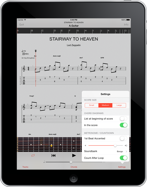The Guitar Pro App for iOS 7 is Available   Guitar Pro Blog