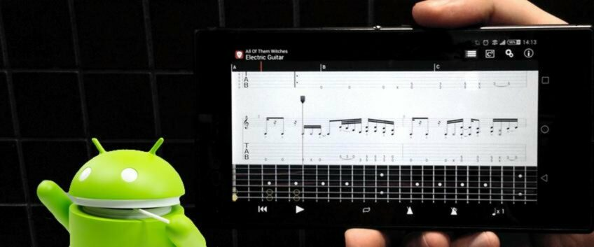 Guitar Pro App updated for Android 5.0 Lollipop compatibility