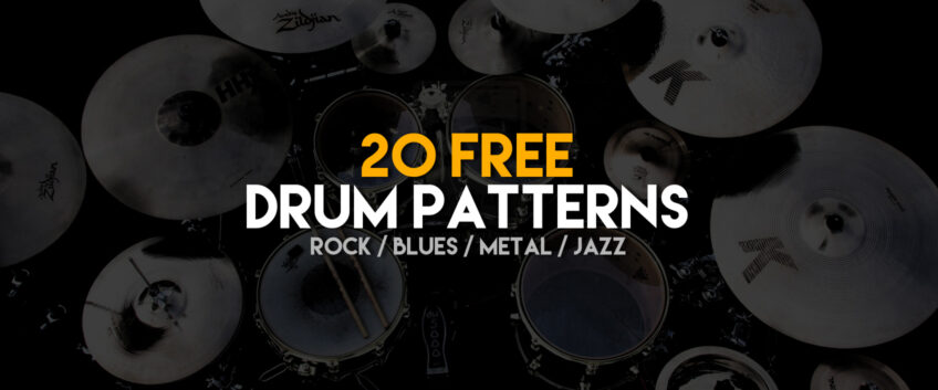 20 Guitar Pro Drum Patterns to Download for Free | Guitar