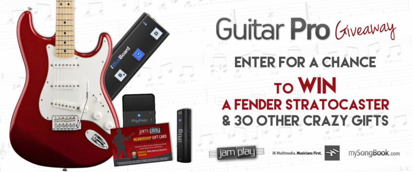 [CLOSED] Giveaway: Win a Fender Stratocaster and 30 other crazy gifts