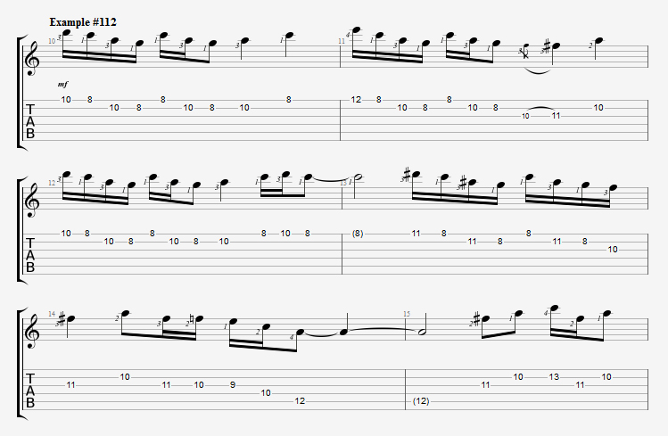 Spice Up Your Blues Playing With Frank Gambale Guitar Pro Blog