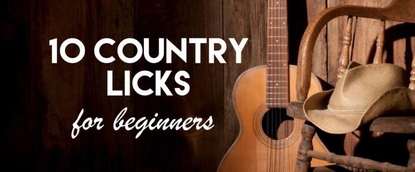 10 Country Licks For Beginners by Jim Lill