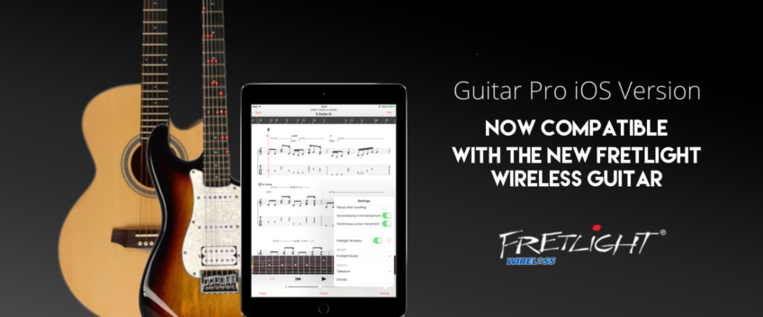 Guitar Pro iOS Version now compatible with Fretlight
