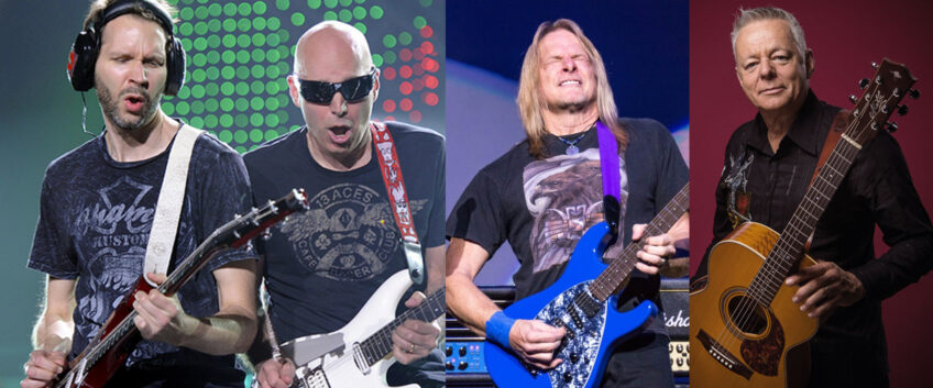 Guitar Challenge for good cause with guitar gods