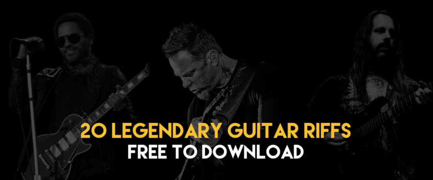 Free Tabs – 20 Legendary Riffs to Download