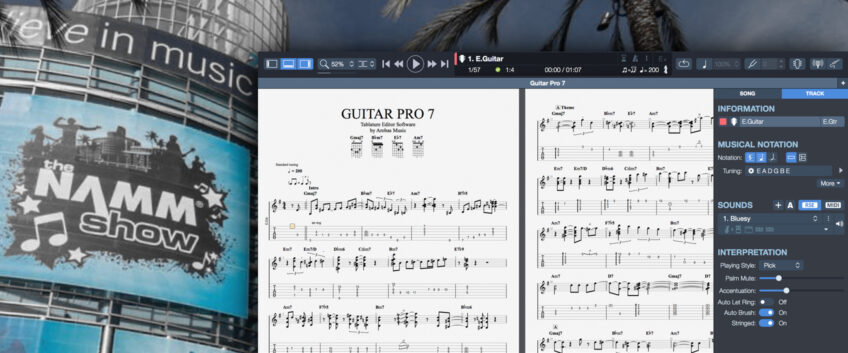 NAMM 2017: Discover GUITAR PRO 7, Beta Version