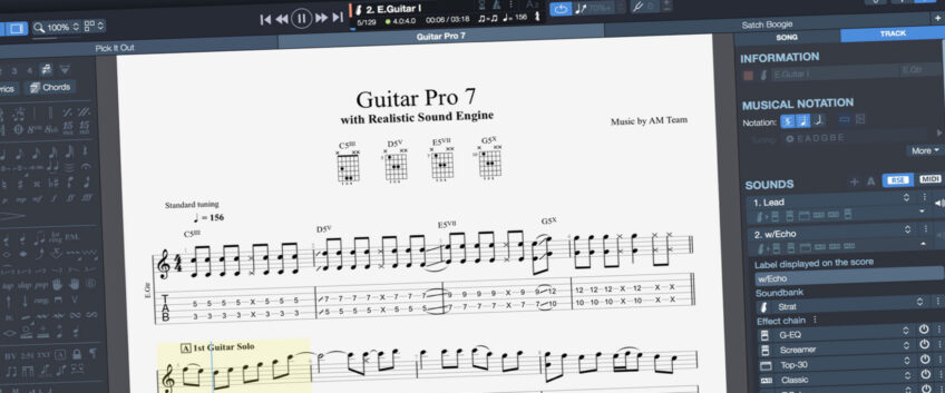 Guitar Pro 7: Now Available!