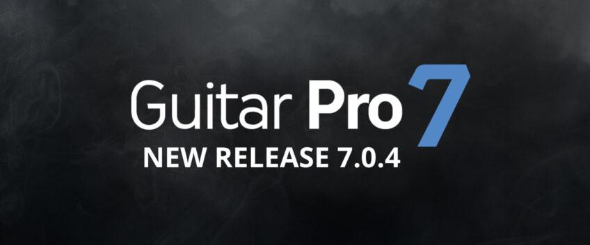Guitar Pro 7.0.4 update now released