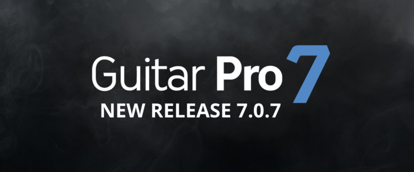 Guitar Pro 7.0.7 update now released