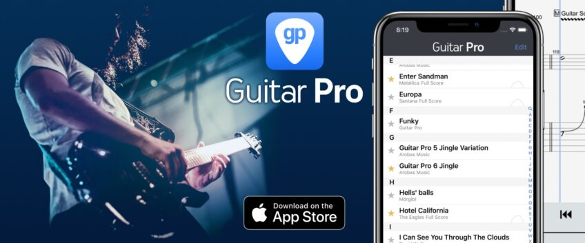 Guitar Pro for iOS, now compatible with Guitar Pro 7