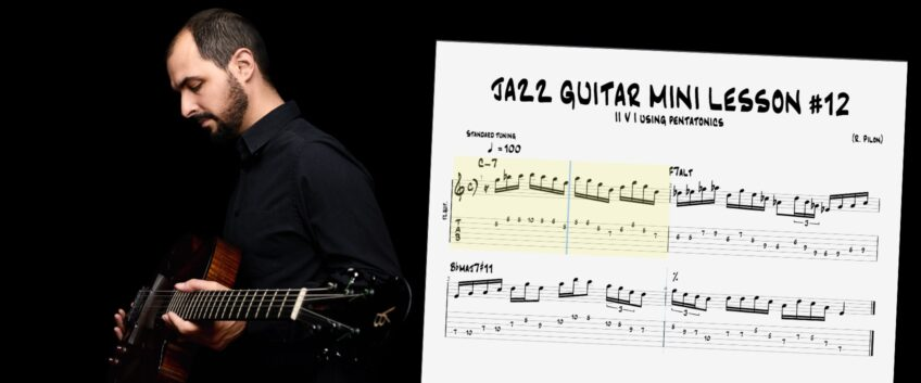 Jazz Guitar Mini Lessons – Play your own Chord Melody