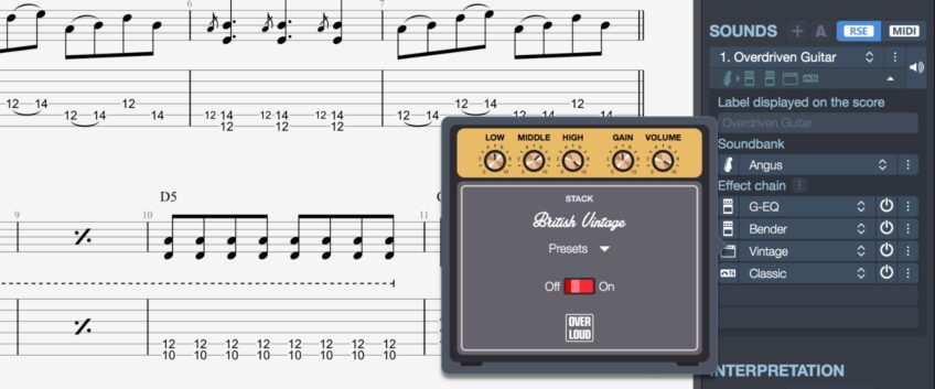 Guitar Pro 7 Signature Sounds Explained