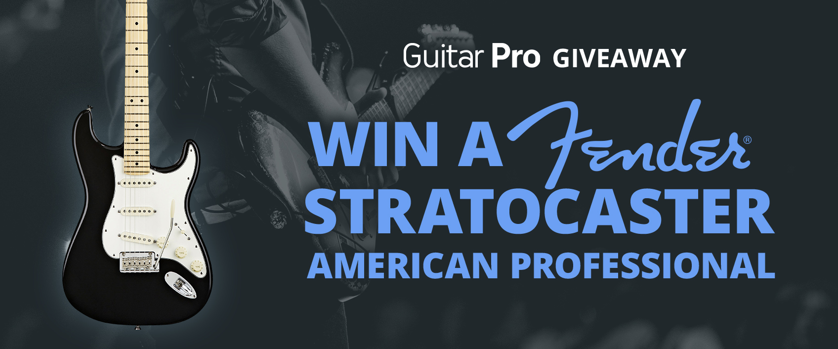 [GUITAR PRO 7.5 GIVEAWAY] WIN this amazing Fender!