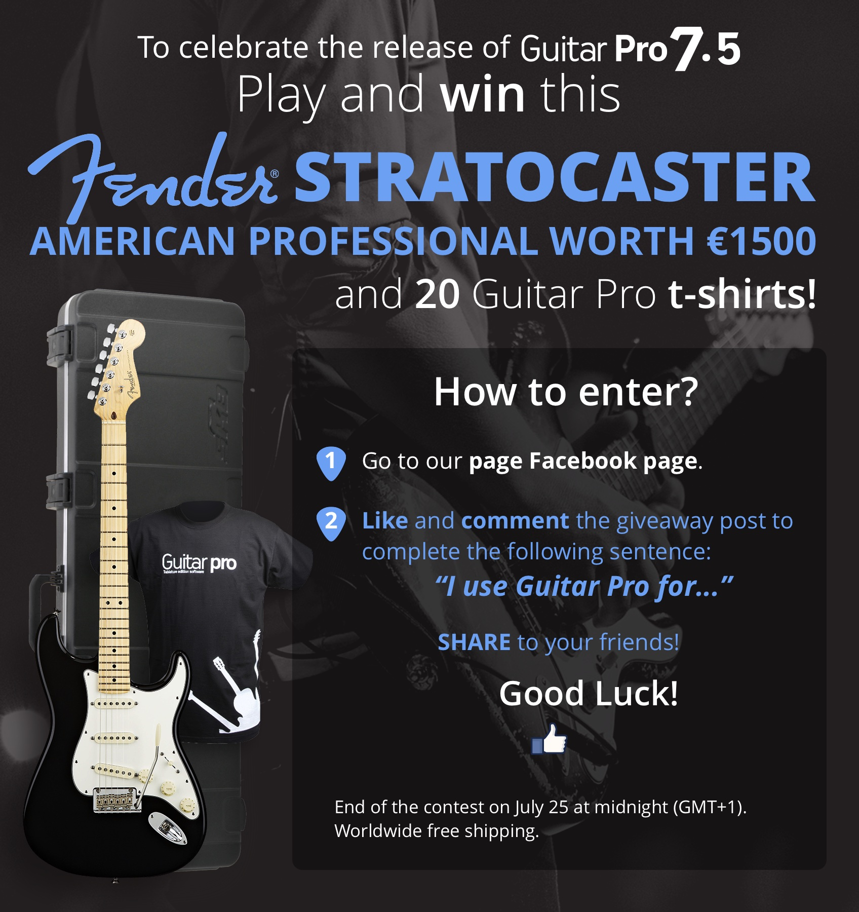 CLOSED] [GUITAR PRO 7 5 GIVEAWAY] WIN this amazing Fender