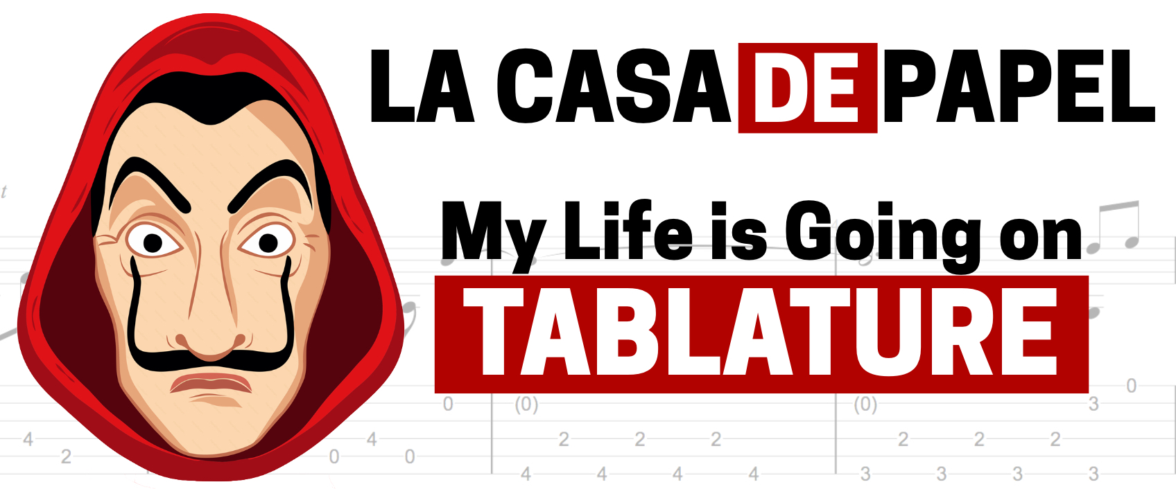 [Free Tablatures] My Life Is Going On – La Casa De Papel