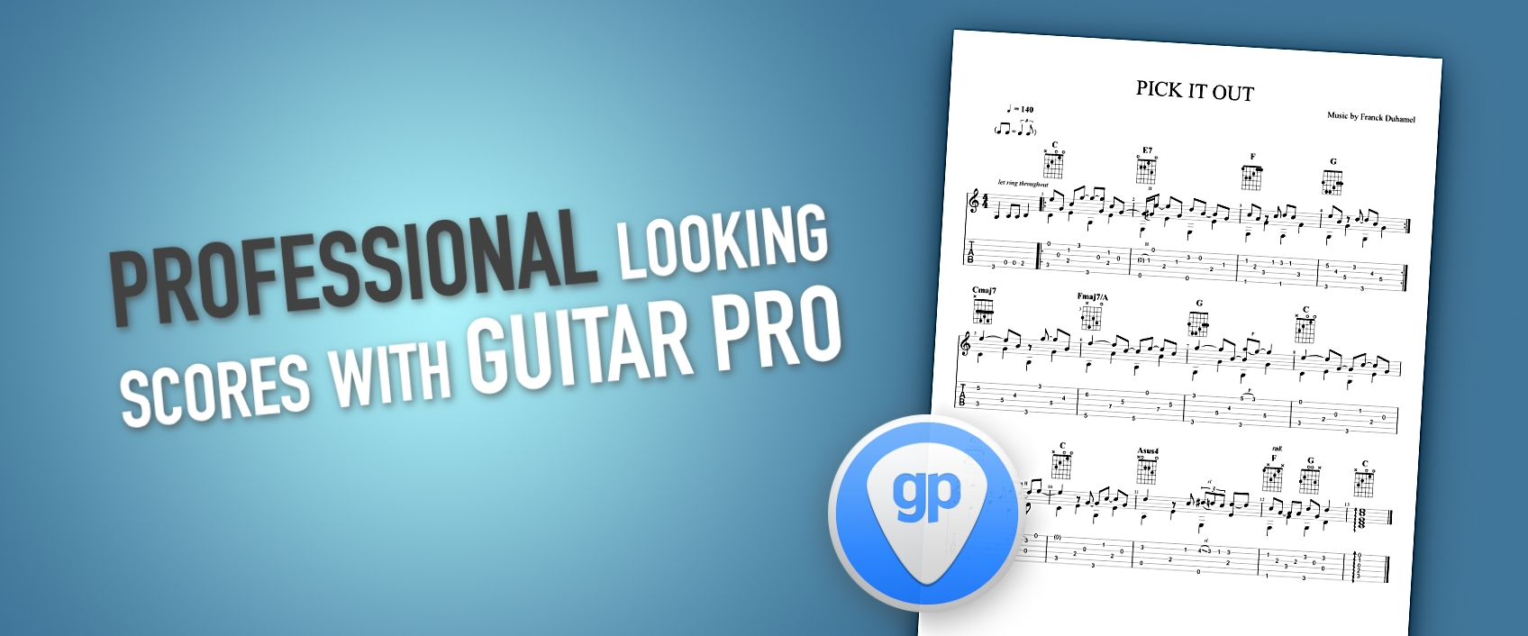 [TUTO] 10 Tips to give a professional look to your scores in Guitar Pro
