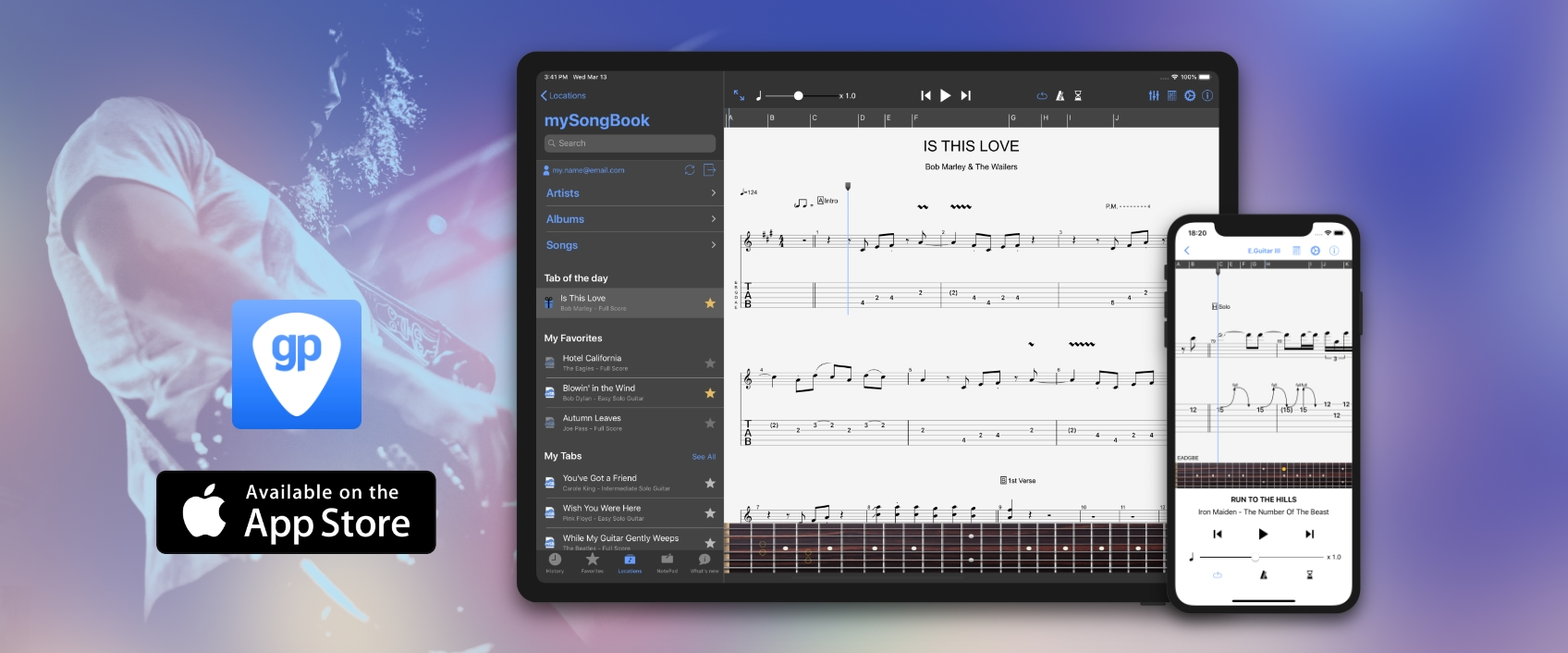 Guitar Pro for iOS : New update 1.9.0