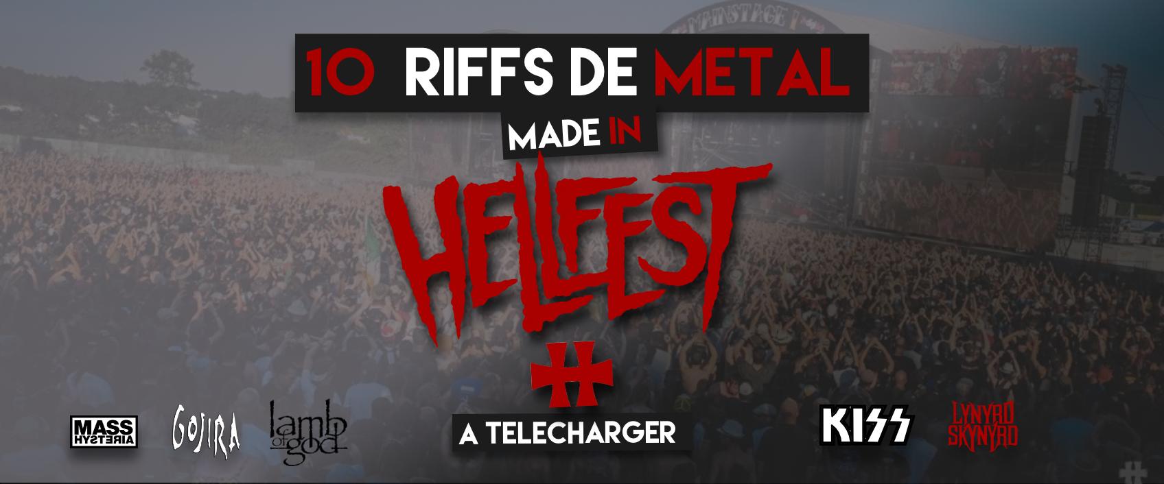 [Tablatures gratuites] Jouez les 10 riffs incontournables du Hellfest 2019 !