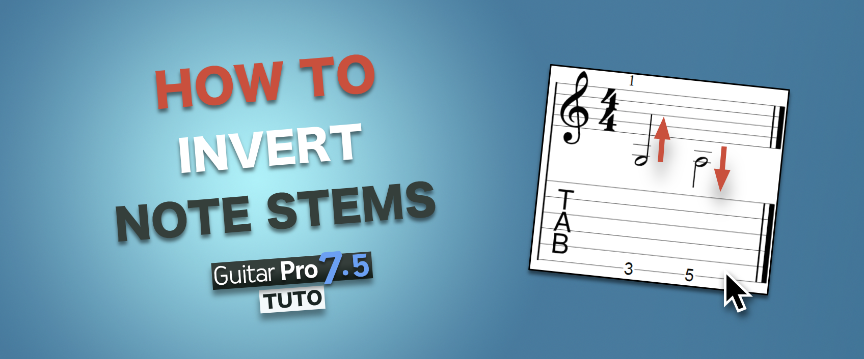 [QUICK TIP] Learn how to change the stem directions of notes