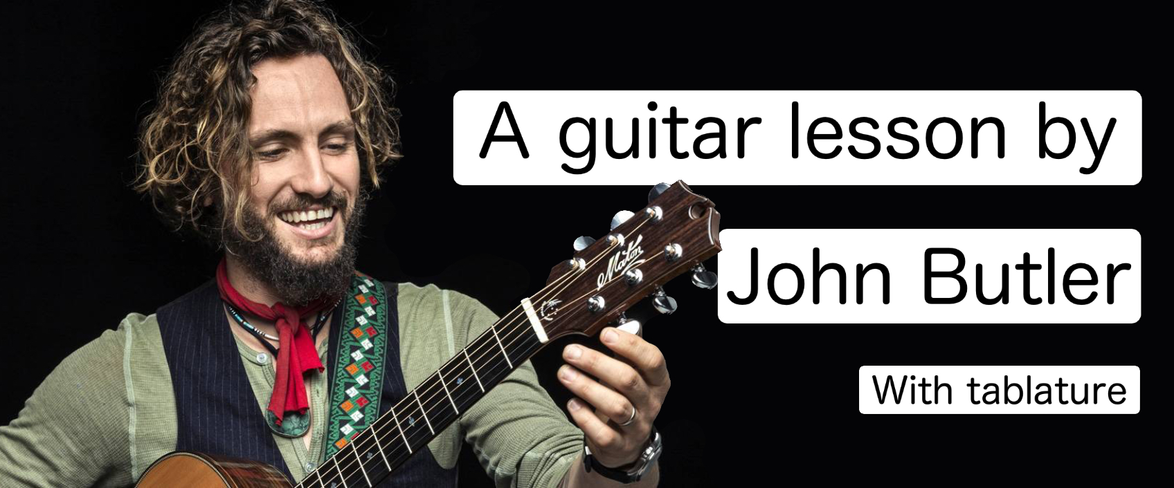 [VIDEO] John Butler teaches you how to play one of his riff