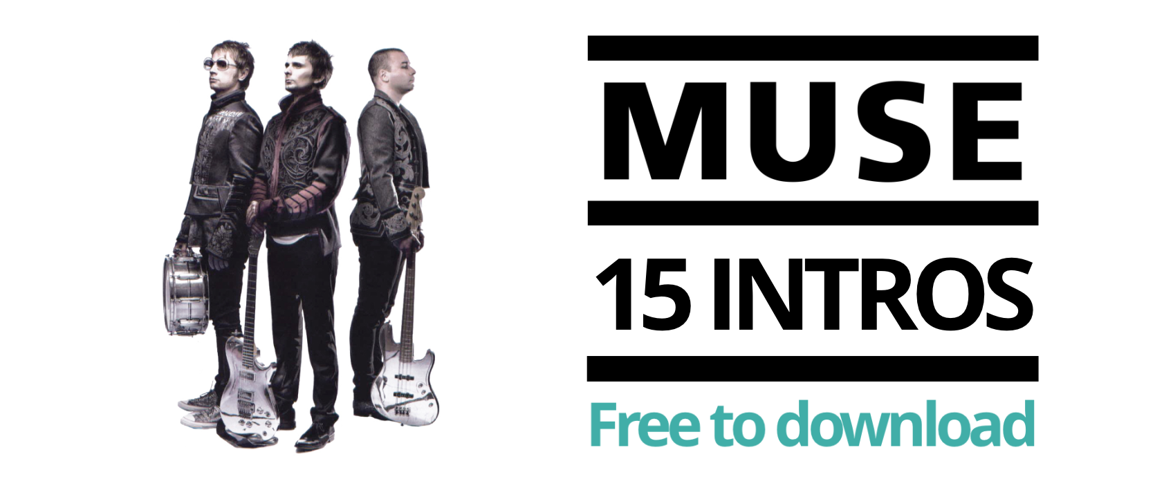 [FREE TABS] Play top 15 Muse intros