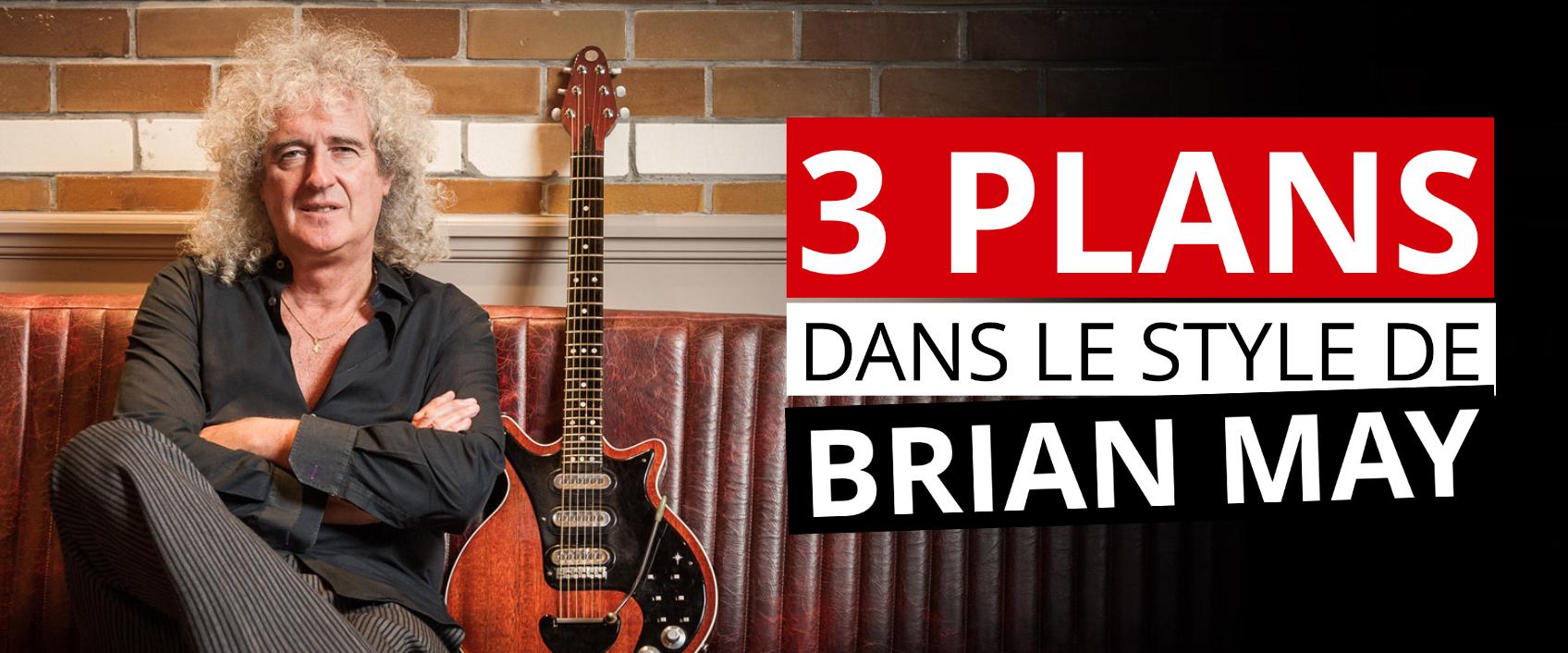 [Partitions gratuites] Jouez 3 solos à la manière de Brian May