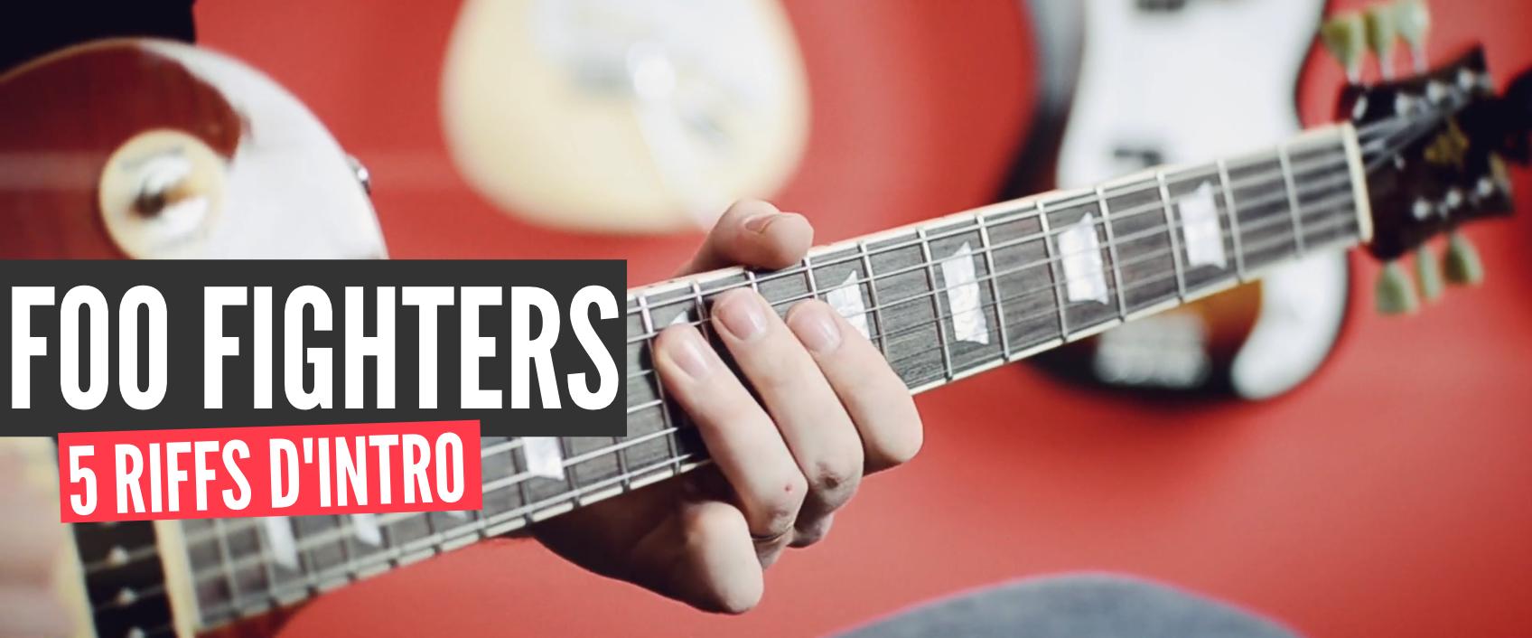 [Foo Fighters] 5 riffs à connaître