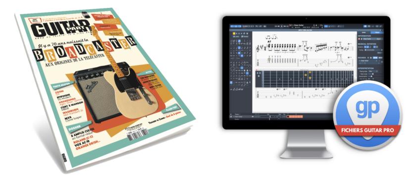 [Guitar Part N°319] Téléchargez les partitions au format Guitar Pro 7