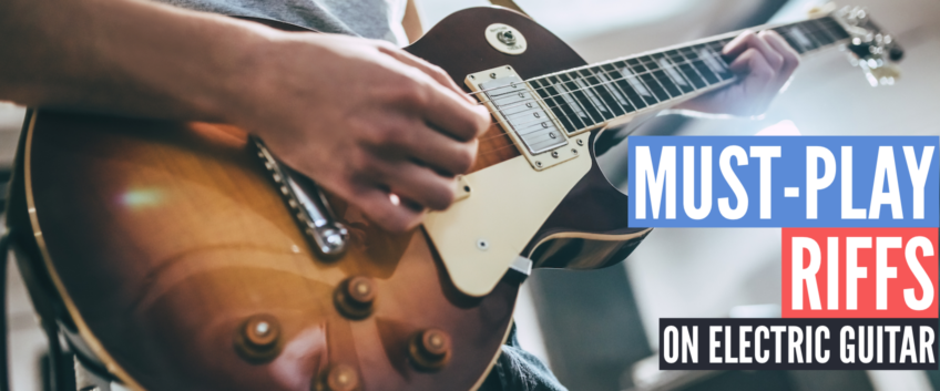 Songs you should play on electric guitar (From beginners to advanced players)