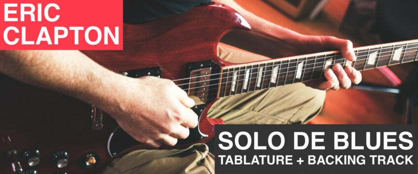 [Plans de blues] solo facile dans le style de Clapton