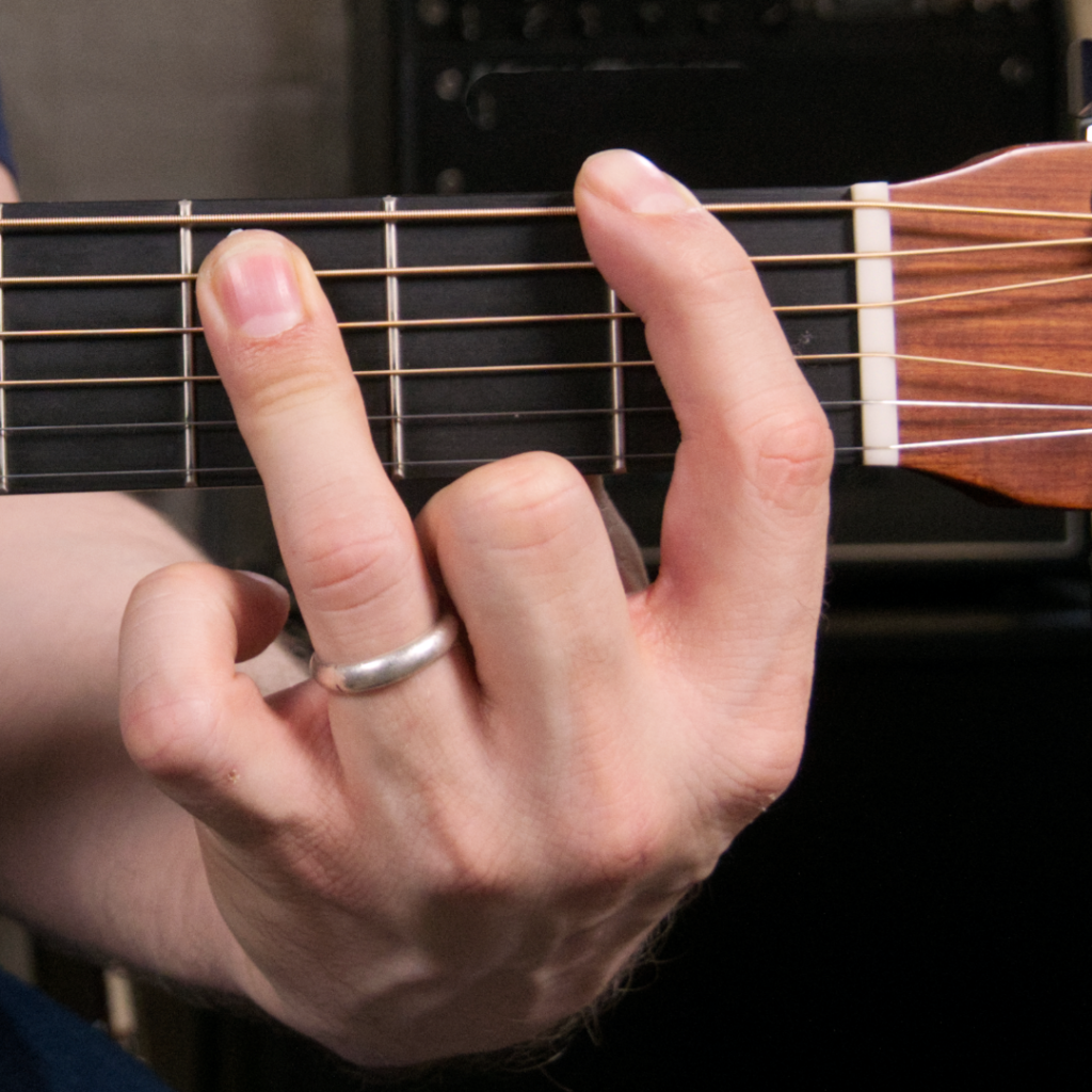 How to play the F5 power chord on guitar