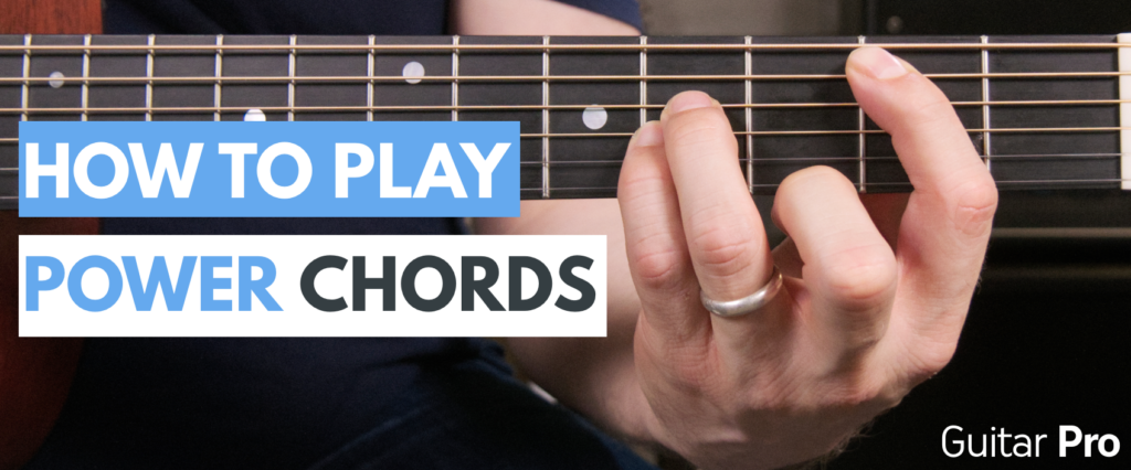 how to play power chords on guitar