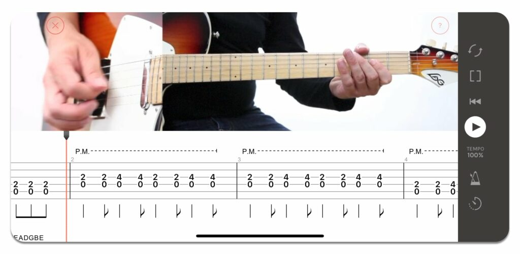 This image has an empty alt attribute; its file name is palm-mute-blues-guitare-1024x502.jpg