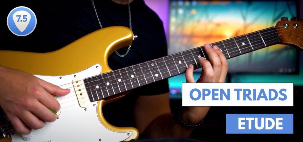 How to play triads guitar triad  Alan Iarussi