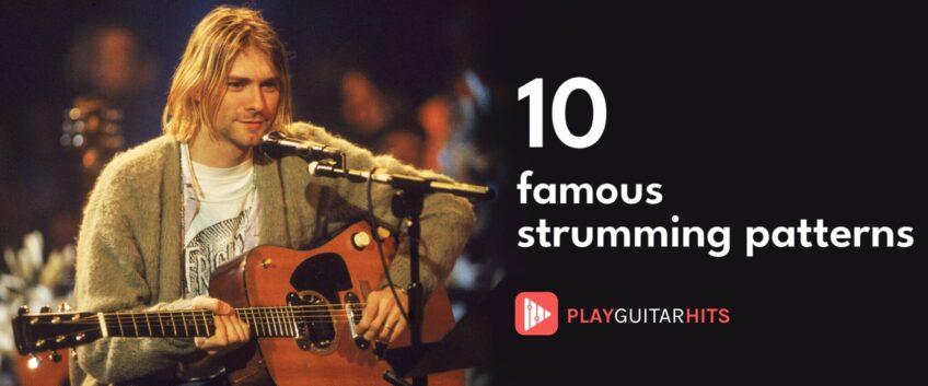 10 guitar rythm strumming patterns